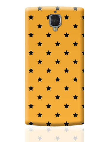 Black Stars OnePlus 3 Covers Cases Online India