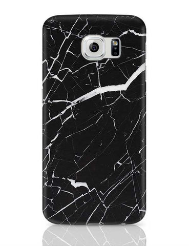 Black Granite Marble Samsung Galaxy S6 Covers Cases Online India