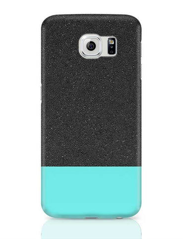 Blue & Black texture Samsung Galaxy S6 Covers Cases Online India