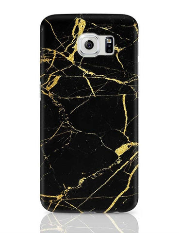 Golden Granite Marble Texture Samsung Galaxy S6 Covers Cases Online India