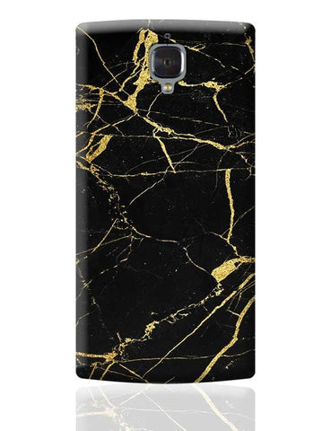 Golden Granite Marble Texture OnePlus 3 Covers Cases Online India