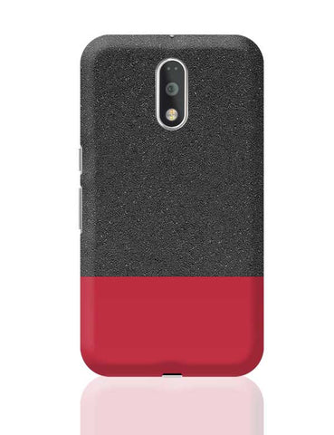 Red & Black texture Moto G4 Plus Online India