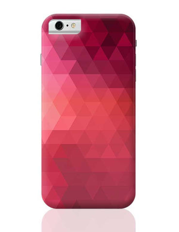 Red Geometrical Triangles iPhone 6 / 6S Covers Cases