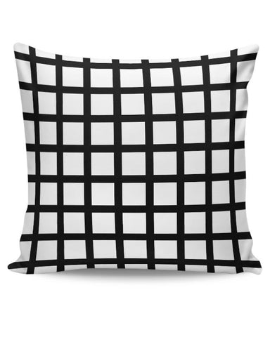 Black Stripe Pillow Cover Cushion Cover Online India