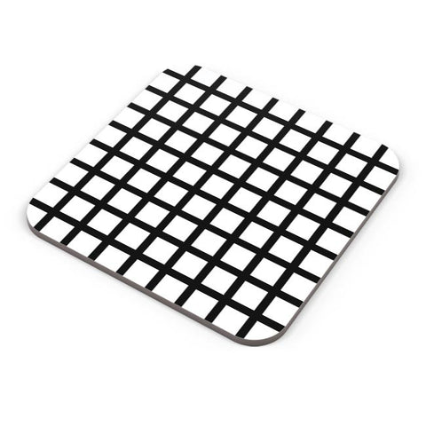 Black Stripe Pillow Cover Coaster Online India