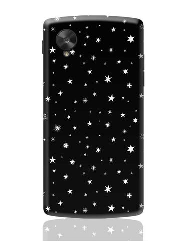 Stars in Night Sky Mobile case Google Nexus 5 Covers Cases Online India
