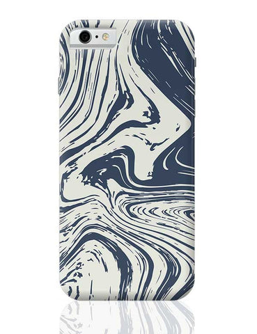 blue marble abstract texture iPhone 6 / 6S Covers Cases