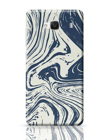 blue marble abstract texture Redmi 2 / Redmi 2 Prime Covers Cases Online India