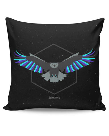 Magnanimous (Blue) Cushion Cover Online India