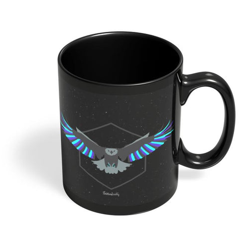 Magnanimous (Blue) Black Coffee Mug Online India
