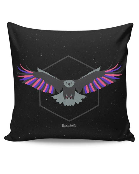 Magnanimous (Pink) Cushion Cover Online India