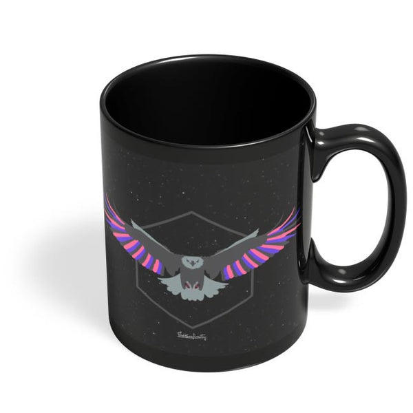 Magnanimous (Pink) Black Coffee Mug Online India