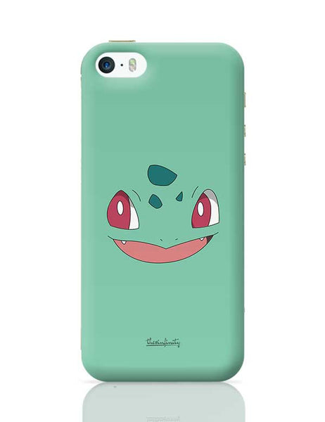 Bulbasaur (Face) iPhone 5/5S Covers Cases Online India