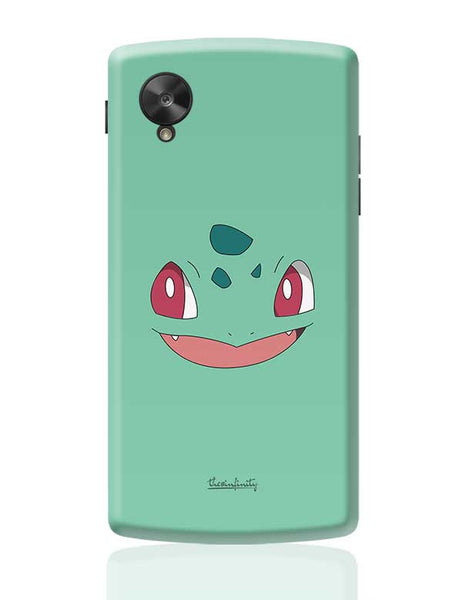 Bulbasaur (Face) Google Nexus 5 Covers Cases Online India