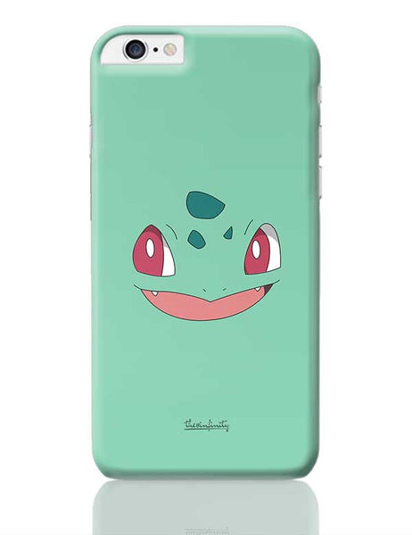 Bulbasaur (Face) iPhone 6 Plus / 6S Plus Covers Cases Online India