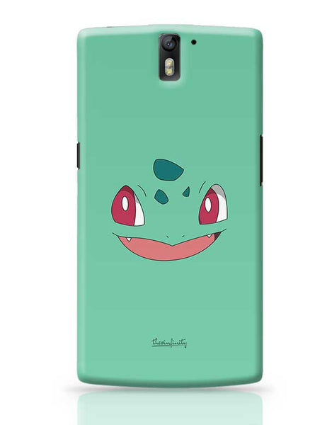 Bulbasaur (Face) OnePlus One Covers Cases Online India