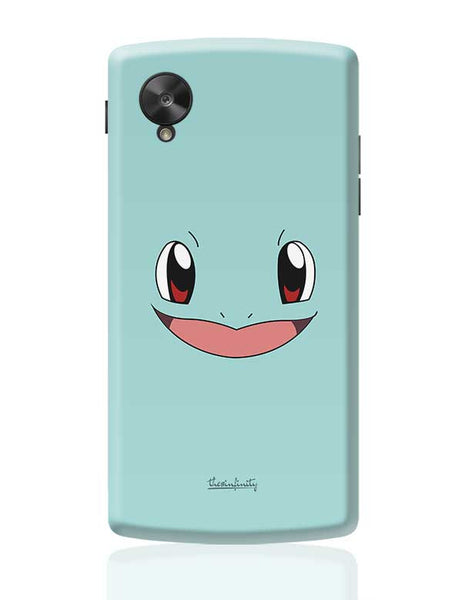 Squirtle (Face) Google Nexus 5 Covers Cases Online India