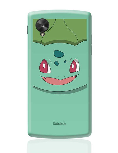 Bulbasaur (Body) Google Nexus 5 Covers Cases Online India