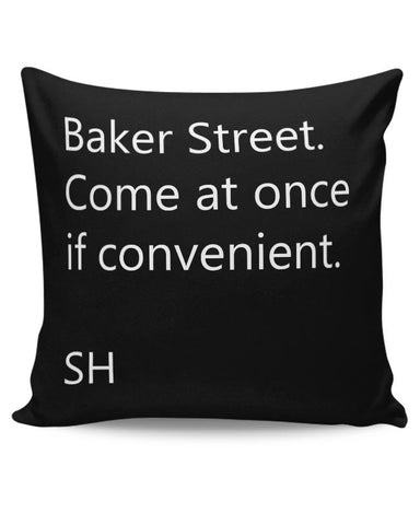 Baker Street Cushion Cover Online India