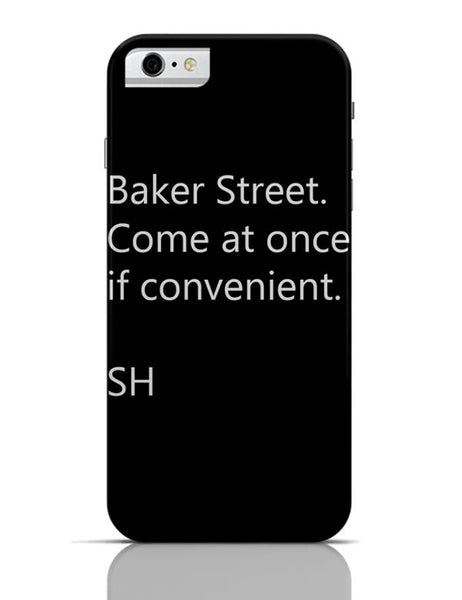 Baker Street iPhone 6 6S Covers Cases Online India