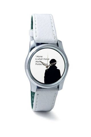 Women Wrist Watch India | Sherlock - Alone Protects Me Wrist Watch Online India