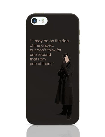 Sherlock - On The Side Of The Angels iPhone 5/5S Covers Cases Online India