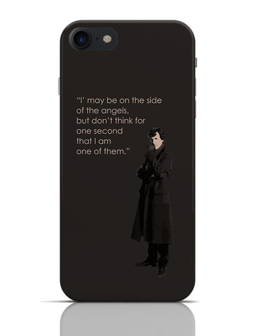 Sherlock - On The Side Of The Angels iPhone 7 Covers Cases Online India