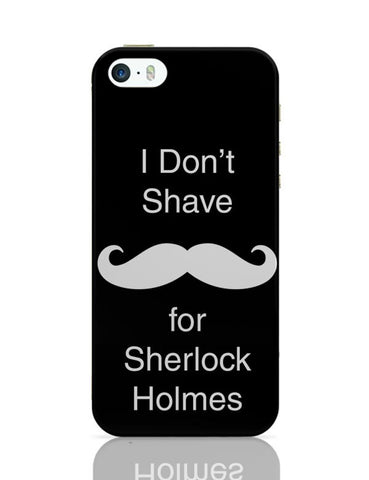 John Watson Moustache - Sherlock iPhone 5/5S Covers Cases Online India