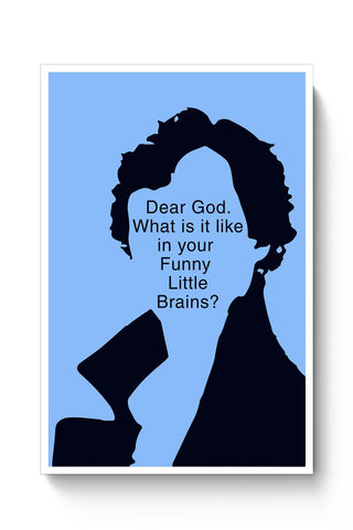 Sherlock - Funny Little Brains Poster Online India