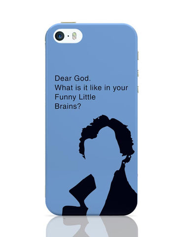 Sherlock - Funny Little Brains iPhone 5/5S Covers Cases Online India
