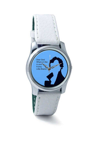 Women Wrist Watch India | Sherlock - Funny Little Brains Wrist Watch Online India
