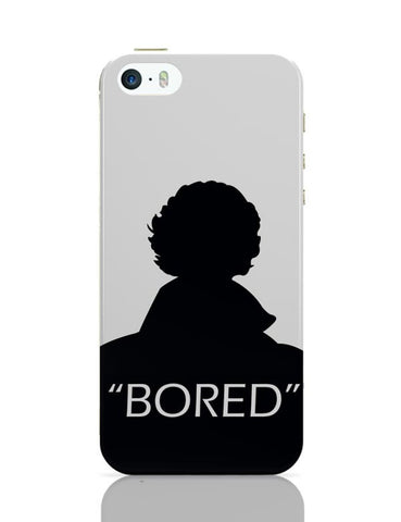 Sherlock - Bored iPhone 5/5S Covers Cases Online India