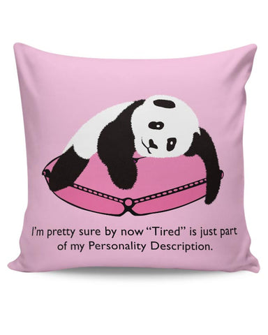 Tired Panda Cushion Cover Online India