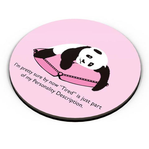 Tired Panda Fridge Magnet Online India