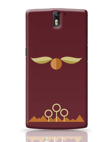 The Golden Snitch OnePlus One Covers Cases Online India