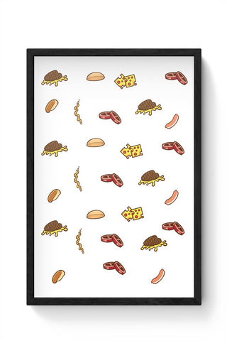 Greedy Framed Poster Online India