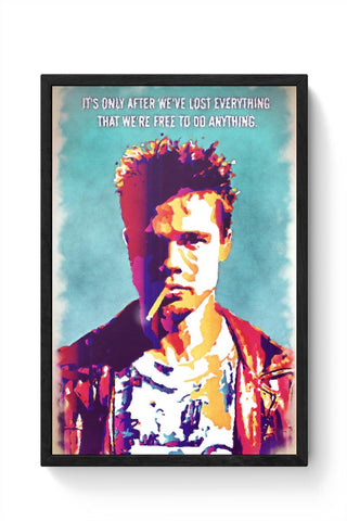Fight Club Framed Poster Online India