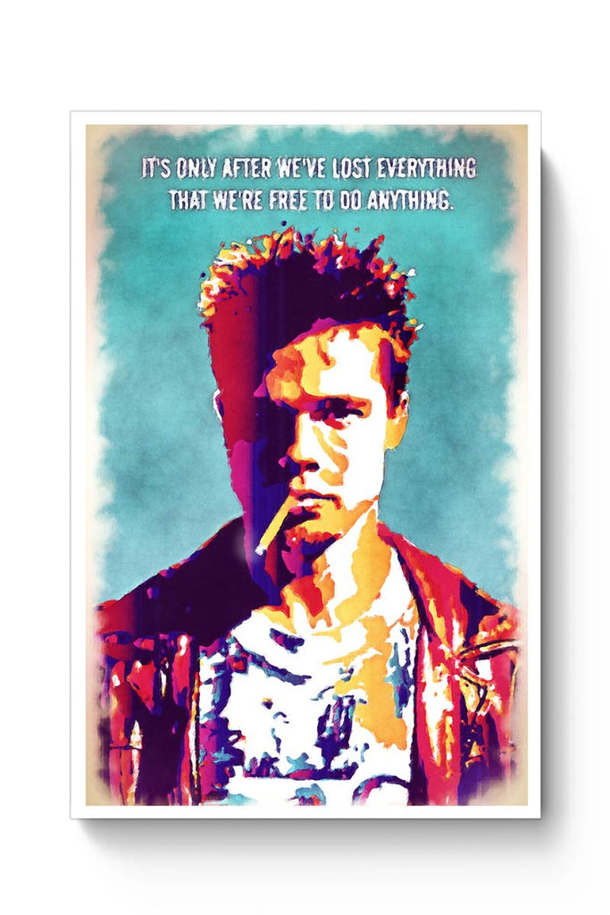 fight club poster  Buy Fight Club Poster Online India | PosterGuy
