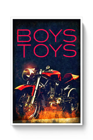 Boys Toys Bike Poster Online India
