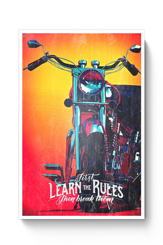 Travel Bike Poster Online India