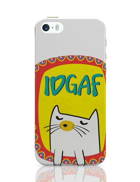 Idgaf iPhone Covers Cases Online India