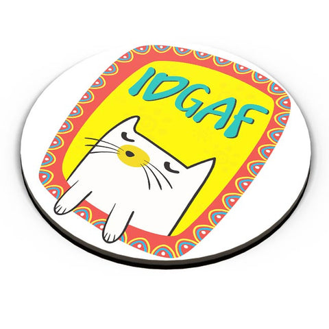 Idgaf Fridge Magnet Online India