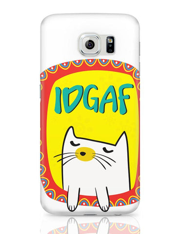 Idgaf Samsung Galaxy S6 Covers Cases Online India