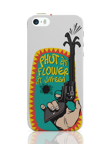 Phut Ke Flower iPhone Covers Cases Online India