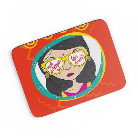 Not Interested A4 Mousepad Online India