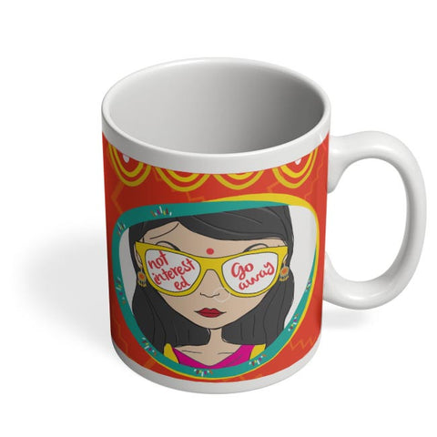 Not Interested Coffee Mug Online India