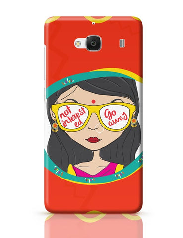 Not Interested Redmi 2 / Redmi 2 Prime Covers Cases Online India