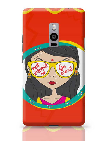 Not Interested OnePlus Two Covers Cases Online India