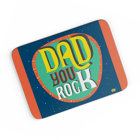 Dad you rock A4 Mousepad Online India