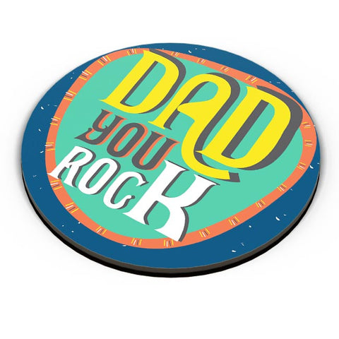 Dad you rock Fridge Magnet Online India